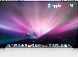 рабочий стол Mac OS X